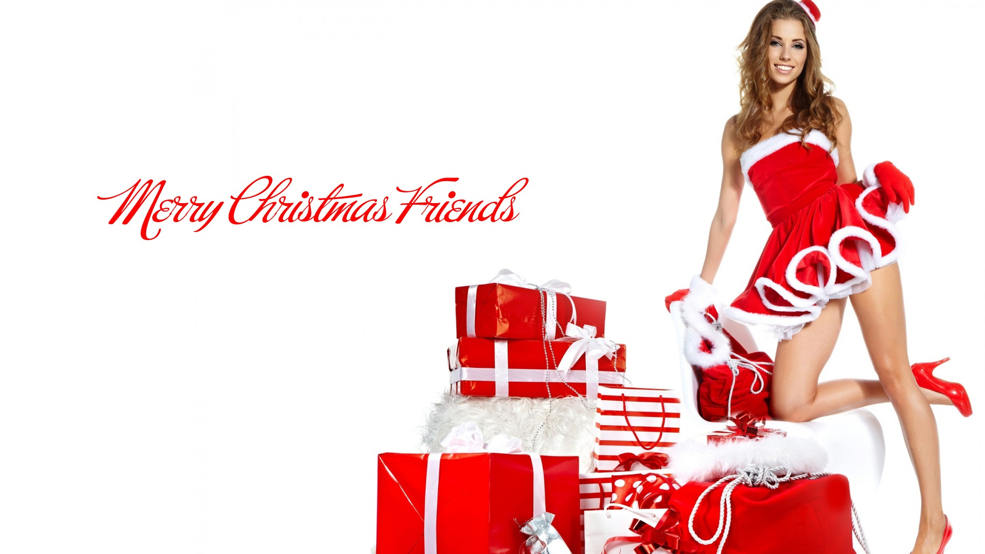 merry christmas girls wallpapers movie hd wallpapers