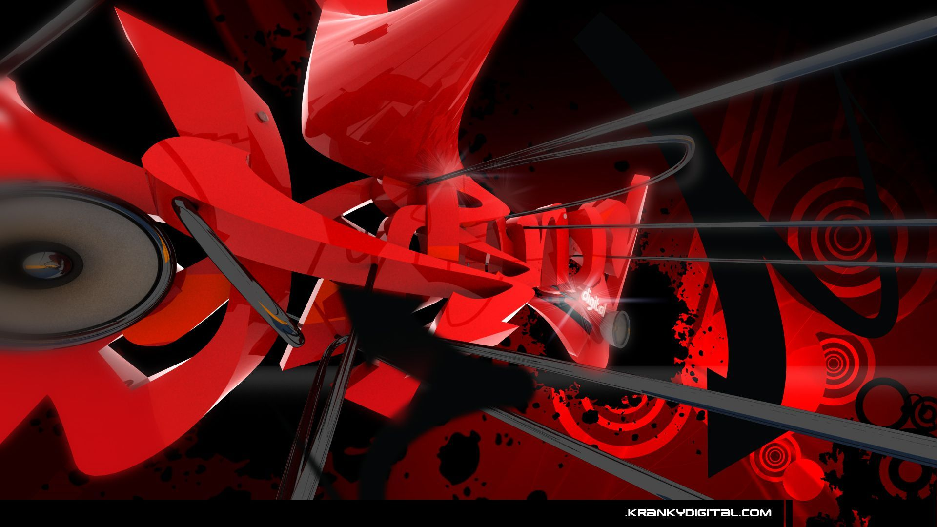 full view et download red graffiti wallpaper with resolution de