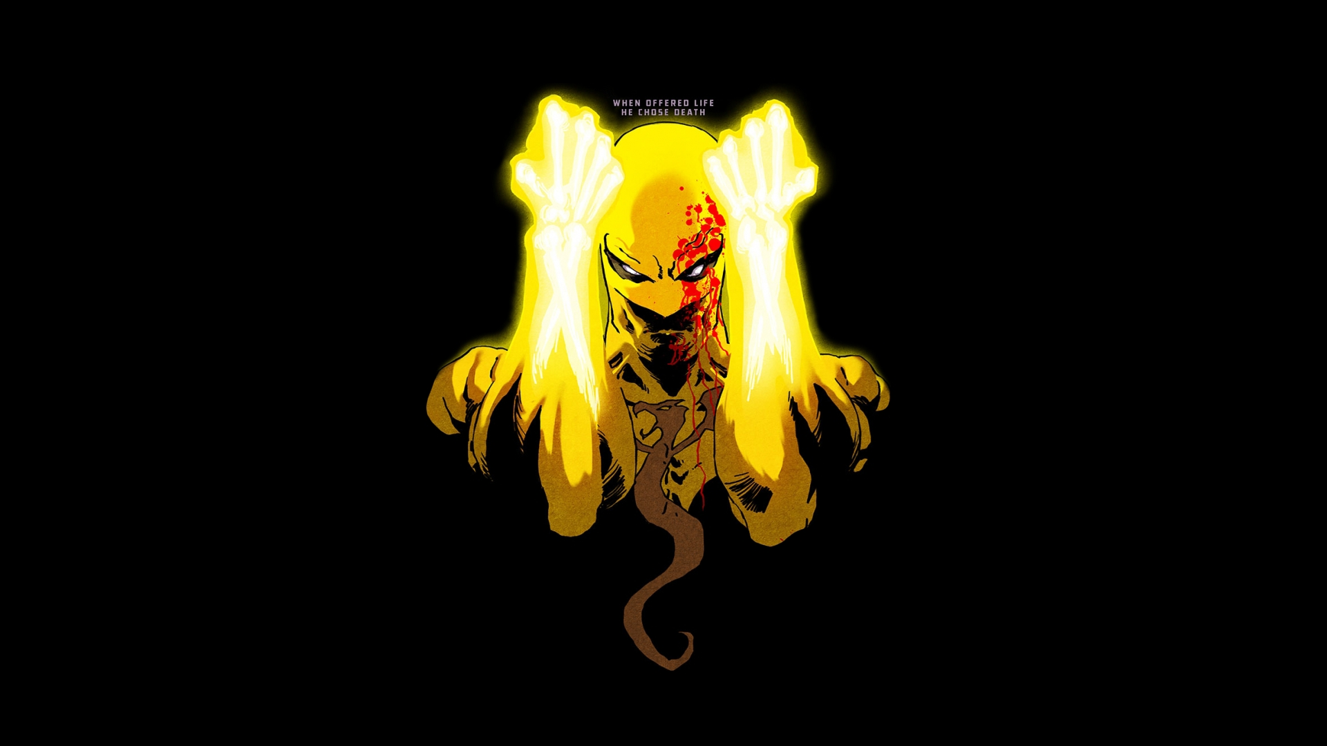 comics iron fist: the living weapon wallpaper  resolution