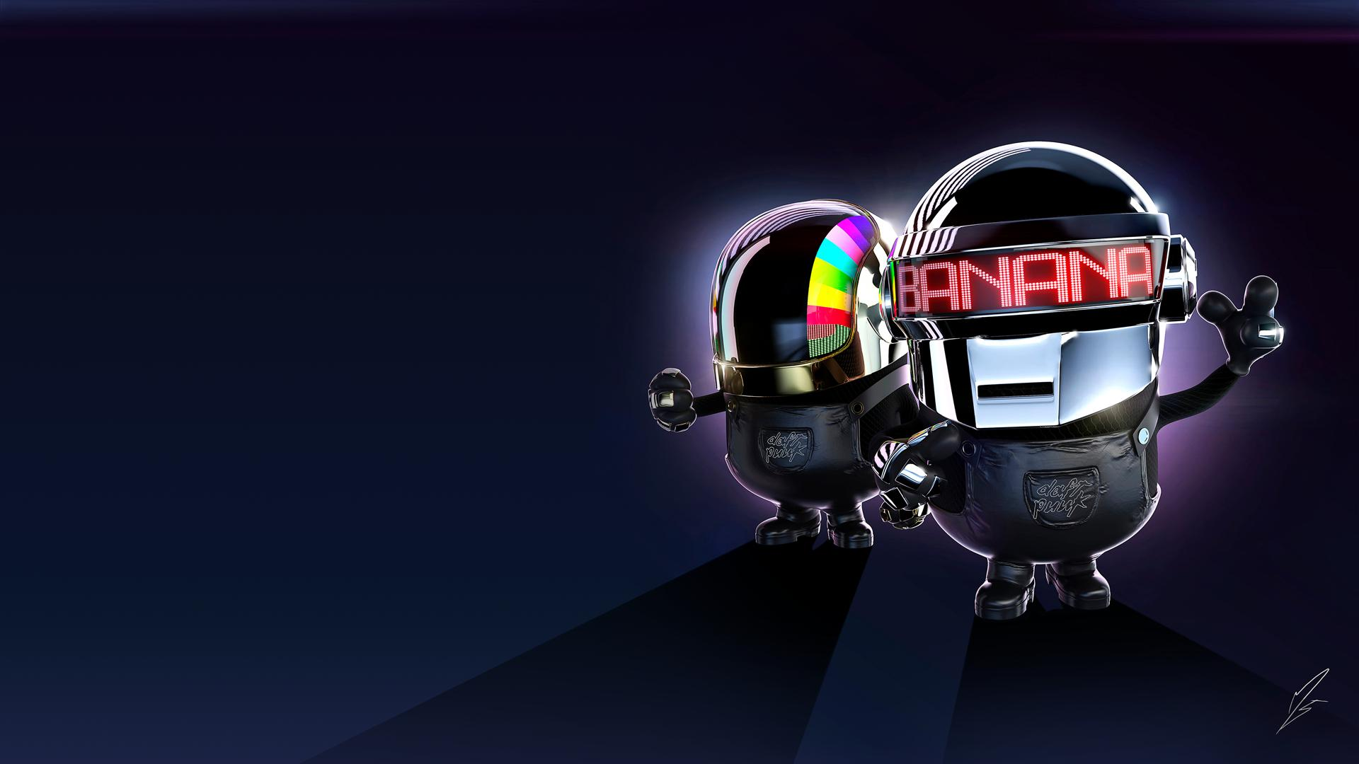daft punk minion exclusive hd wallpapers