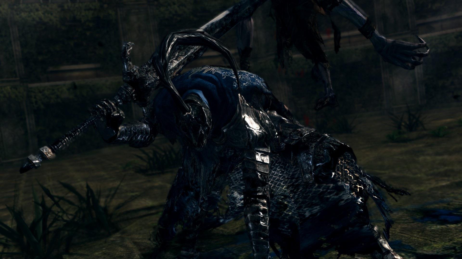 dark souls artorias de the abyss' review: like a black knight out de