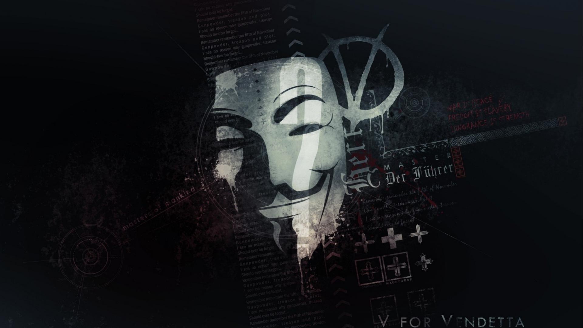 anonymous mask wallpaper v for vendetta hd wallpapers for gratuit