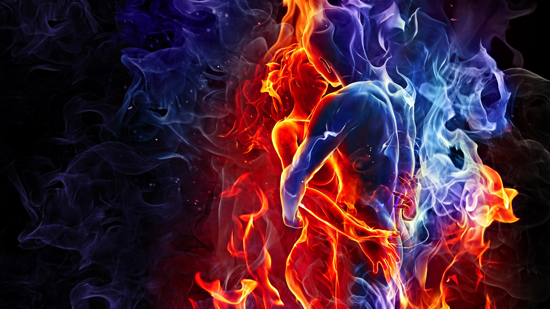 we are like fire et ice..