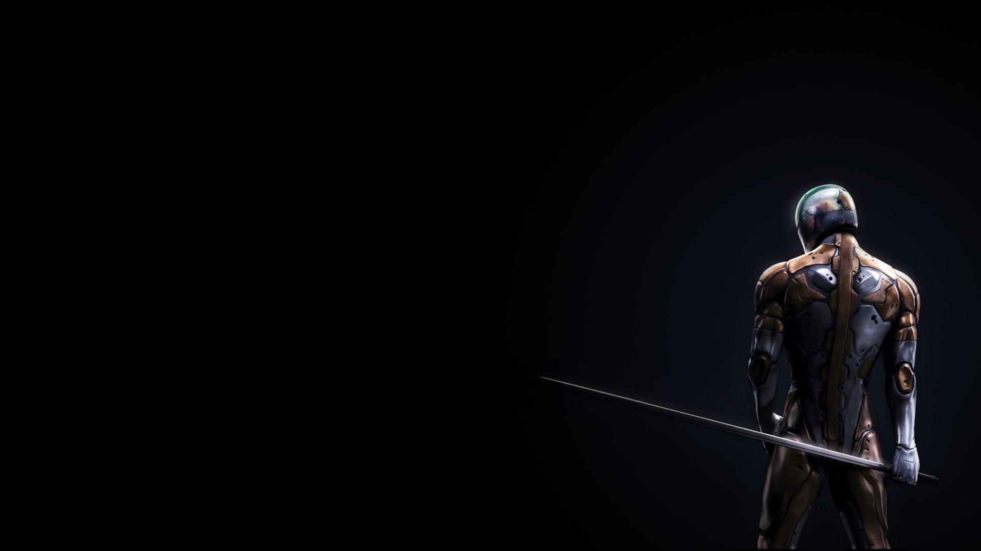 page d'accueil jeuxfonds d'écran hd ninja, dos, arme