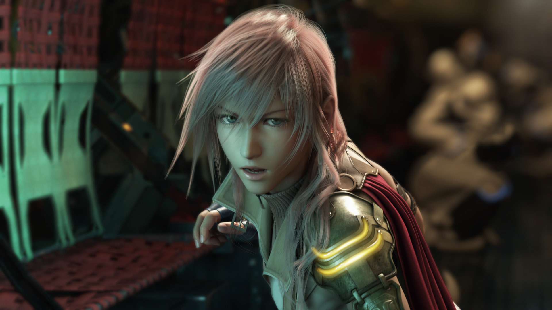fond d'ecran final fantasy xiii playstation