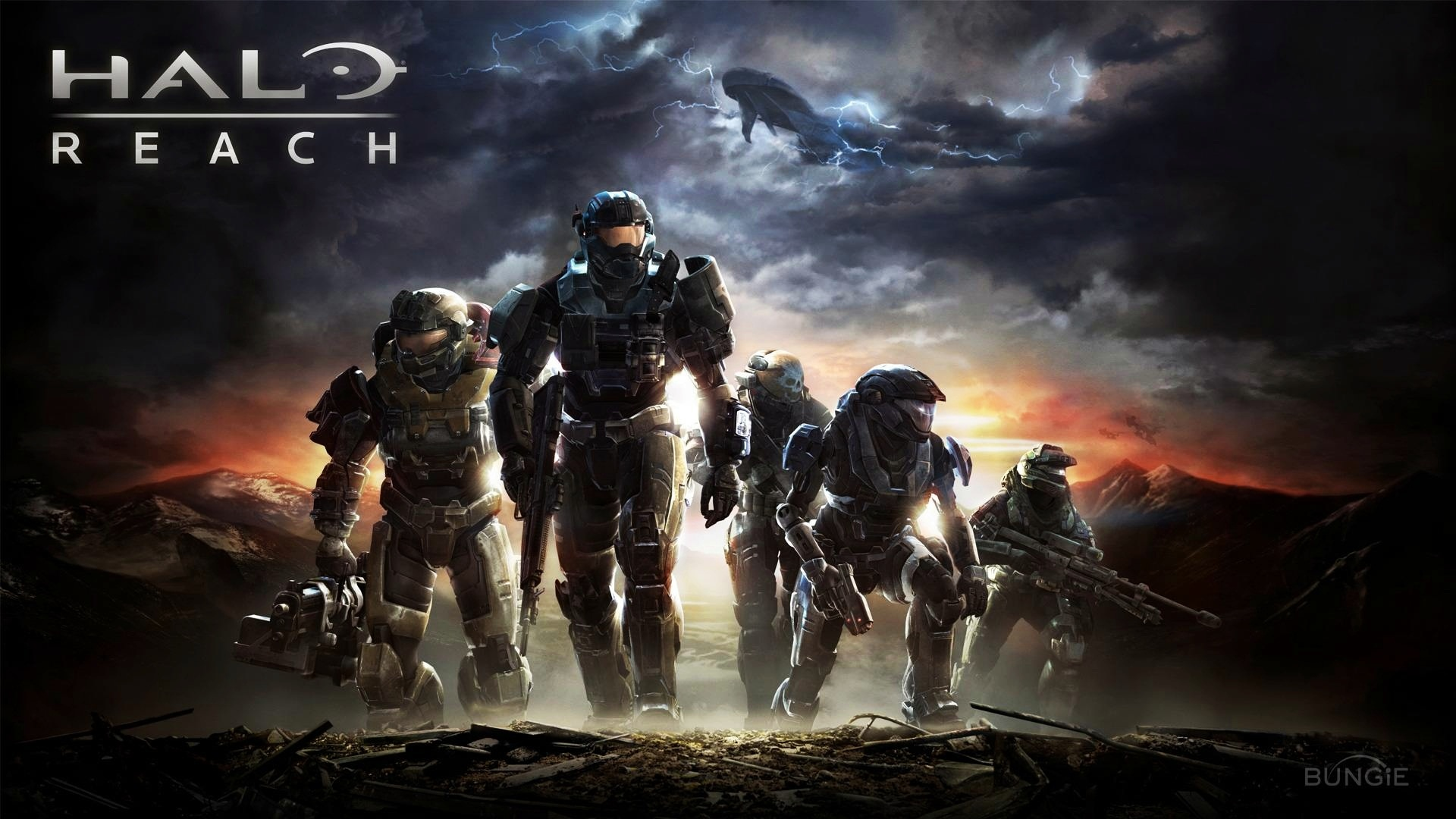 fond écran halo reach hd