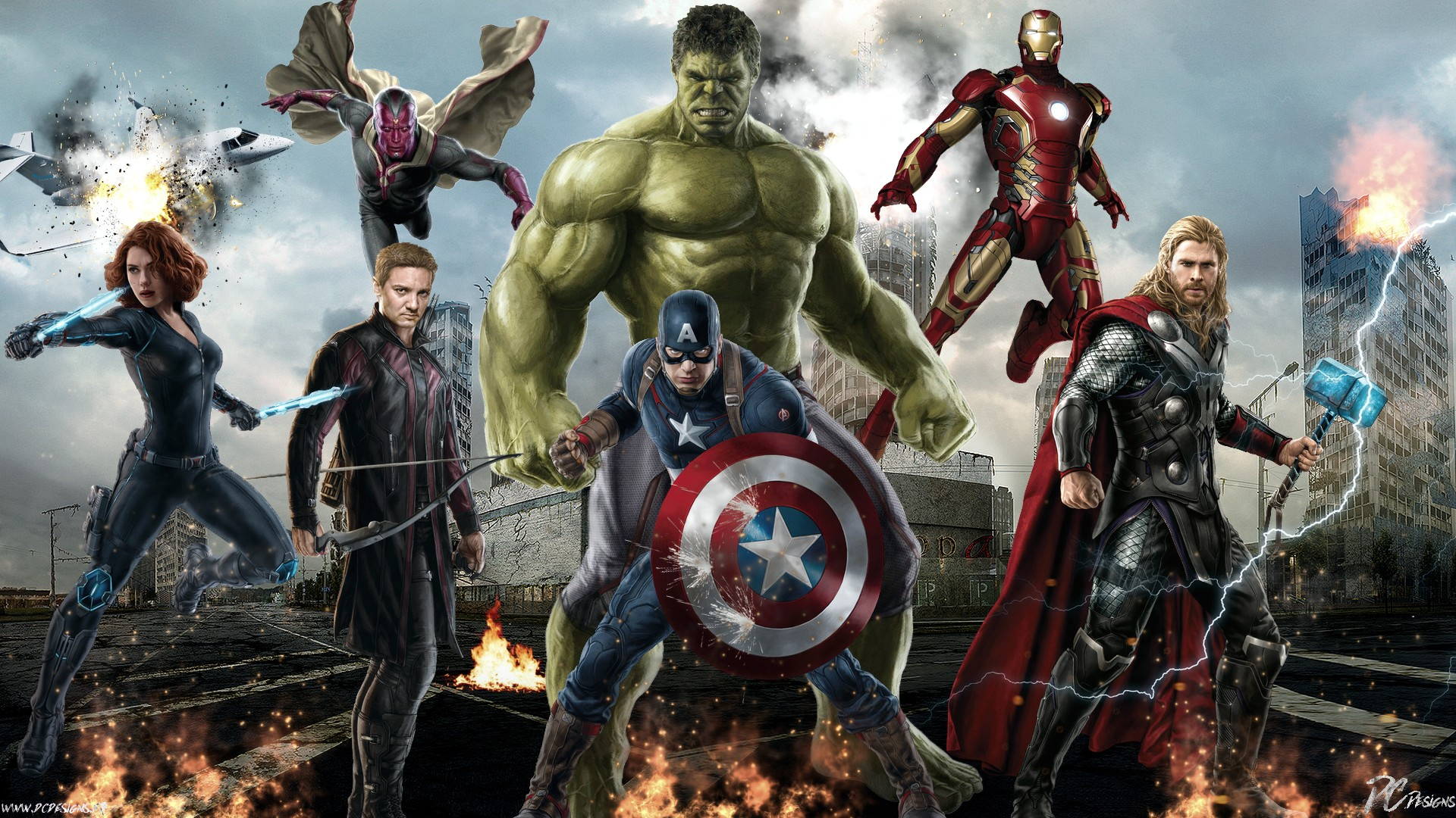 avengers age de ultron wallpapers hd wallpapers early