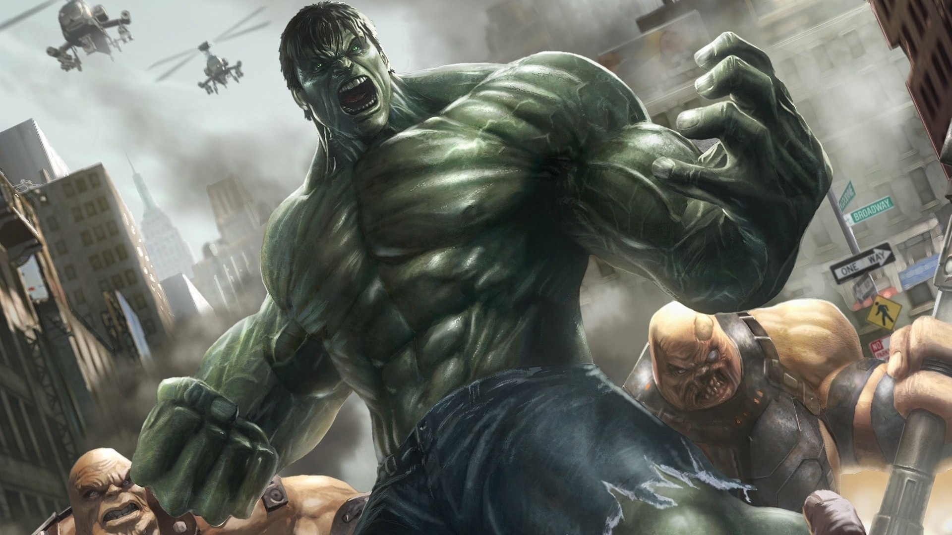 incredible hulk, avions fonds d'écran