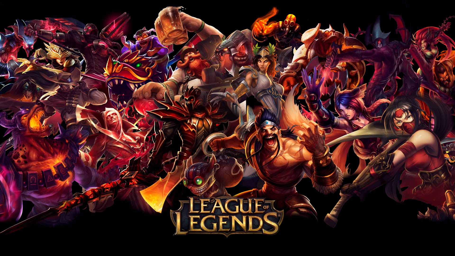 league de legends red hd wallpaper background lol champion x