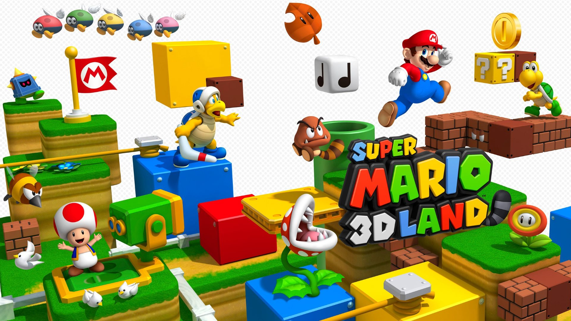 super mario d land hd wallpaper