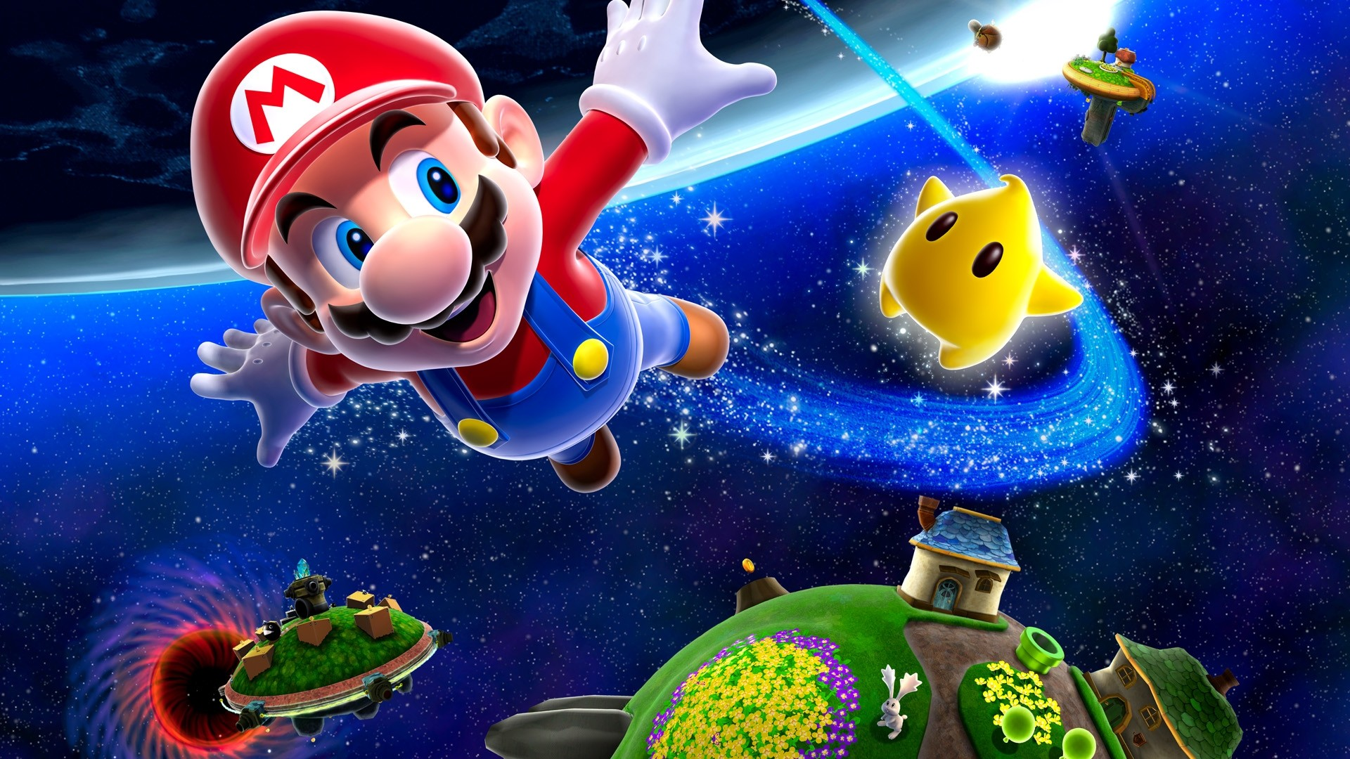 Wallpaper mario hd gratuit t l charger sur ngn mag for Fond ecran gaming