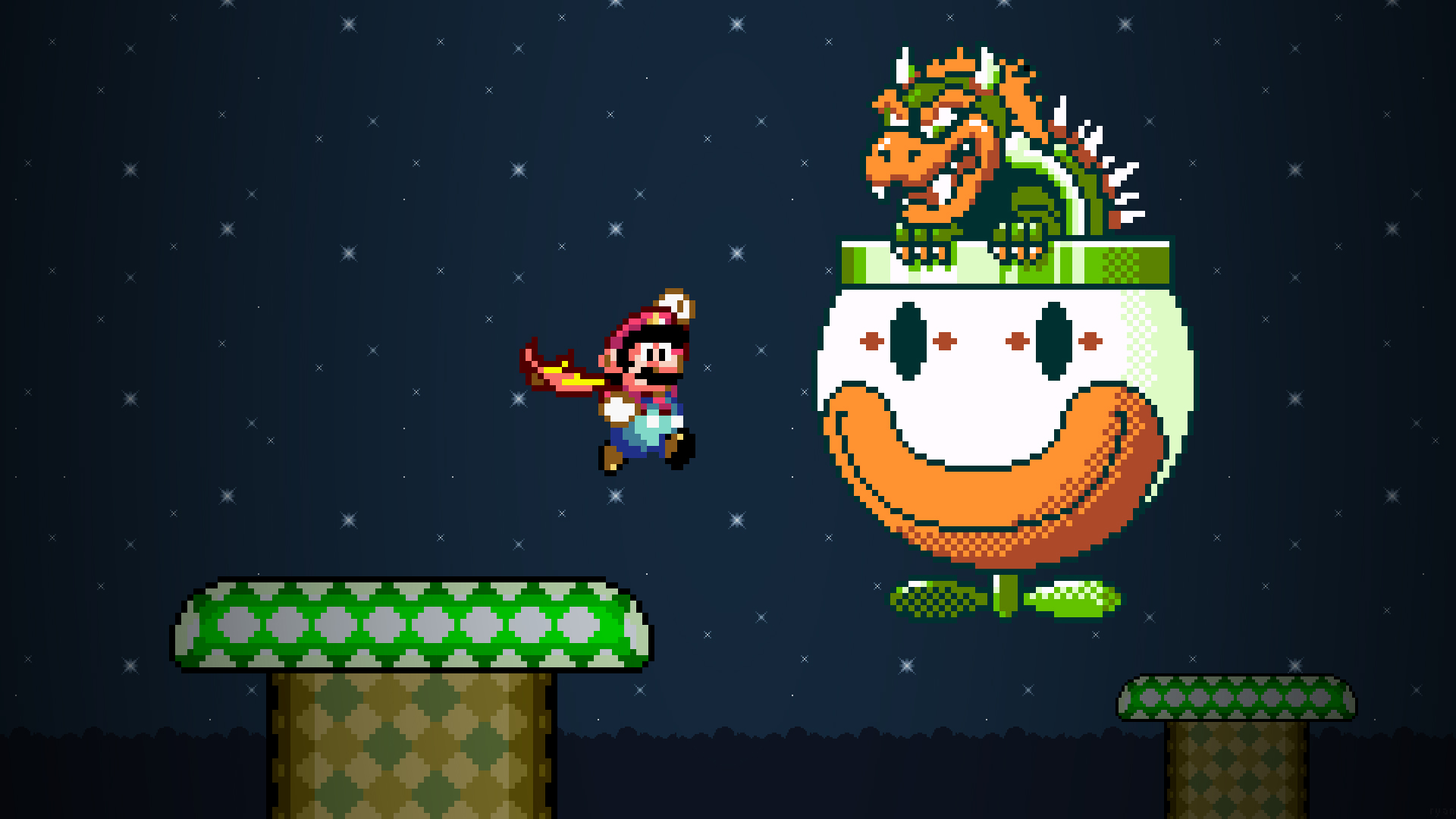 super mario world wallpaper hd