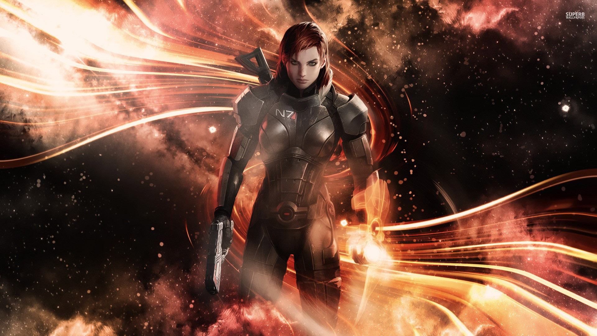 commander shepard mass effect  wallpaper game wallpapers