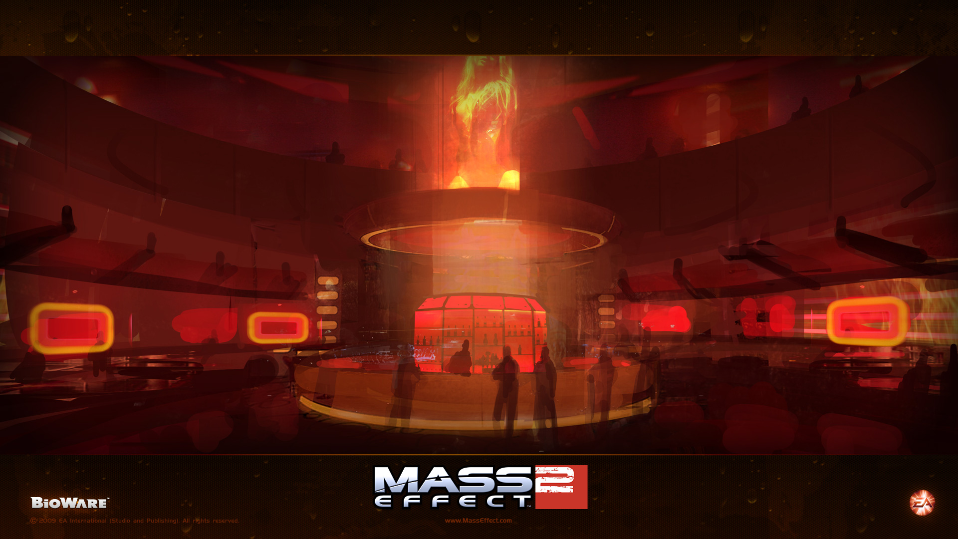 fond ecran, wallpaper mass effect  jeuxvideo.fr