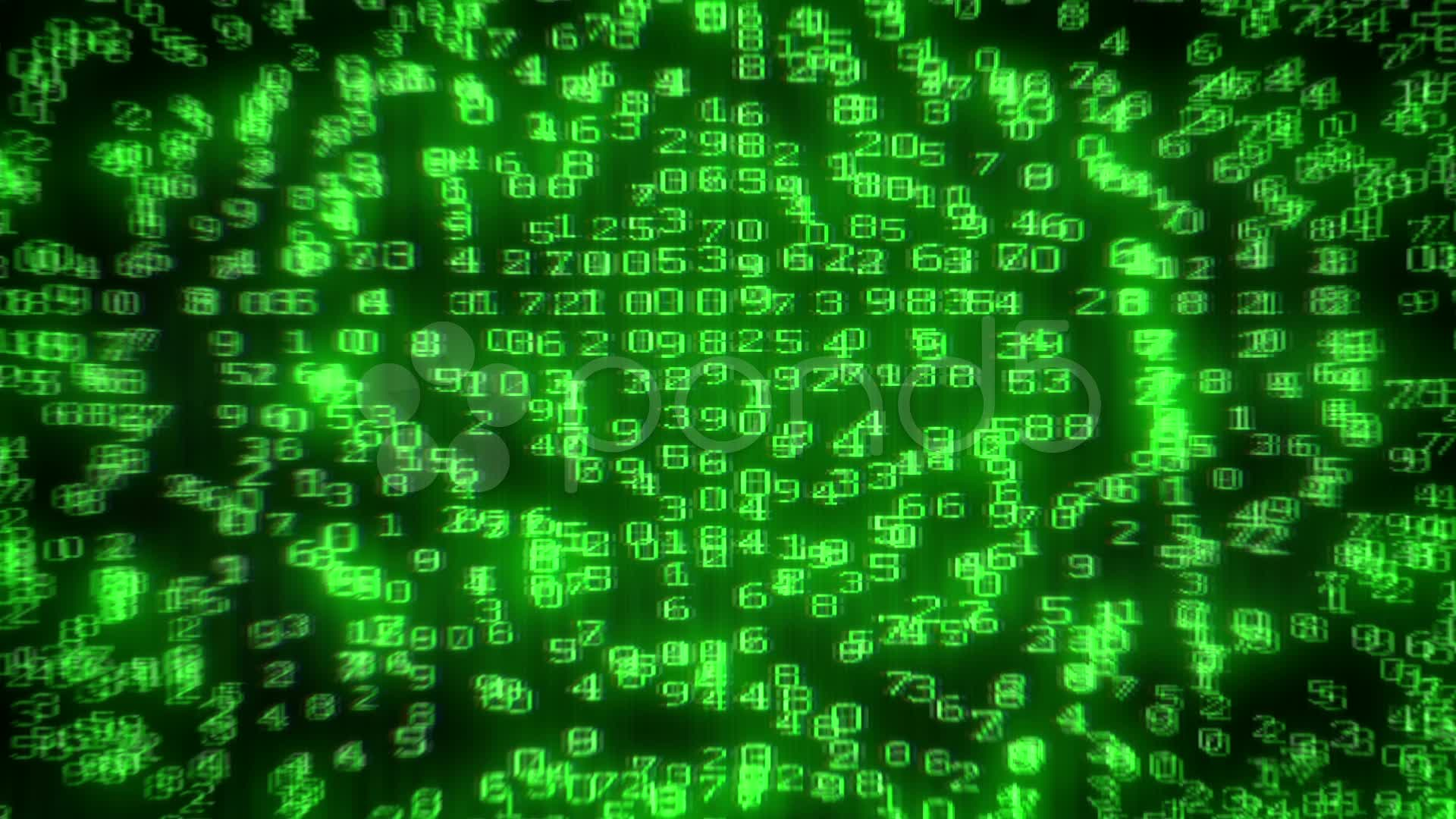 digital data matrix code intro vidéos  pond