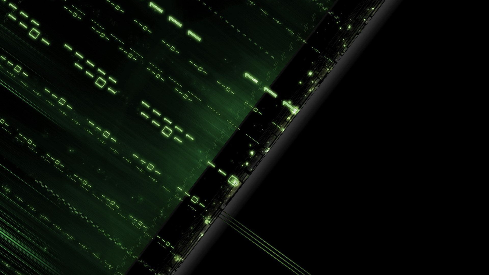abstrait, matrix, binaire fond d'écran gratuit