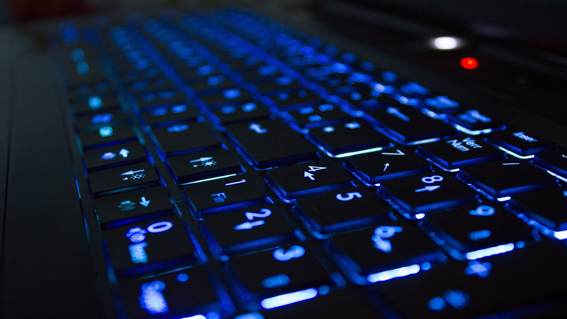 haute technologiefonds d'écran hd clavier haute technologie