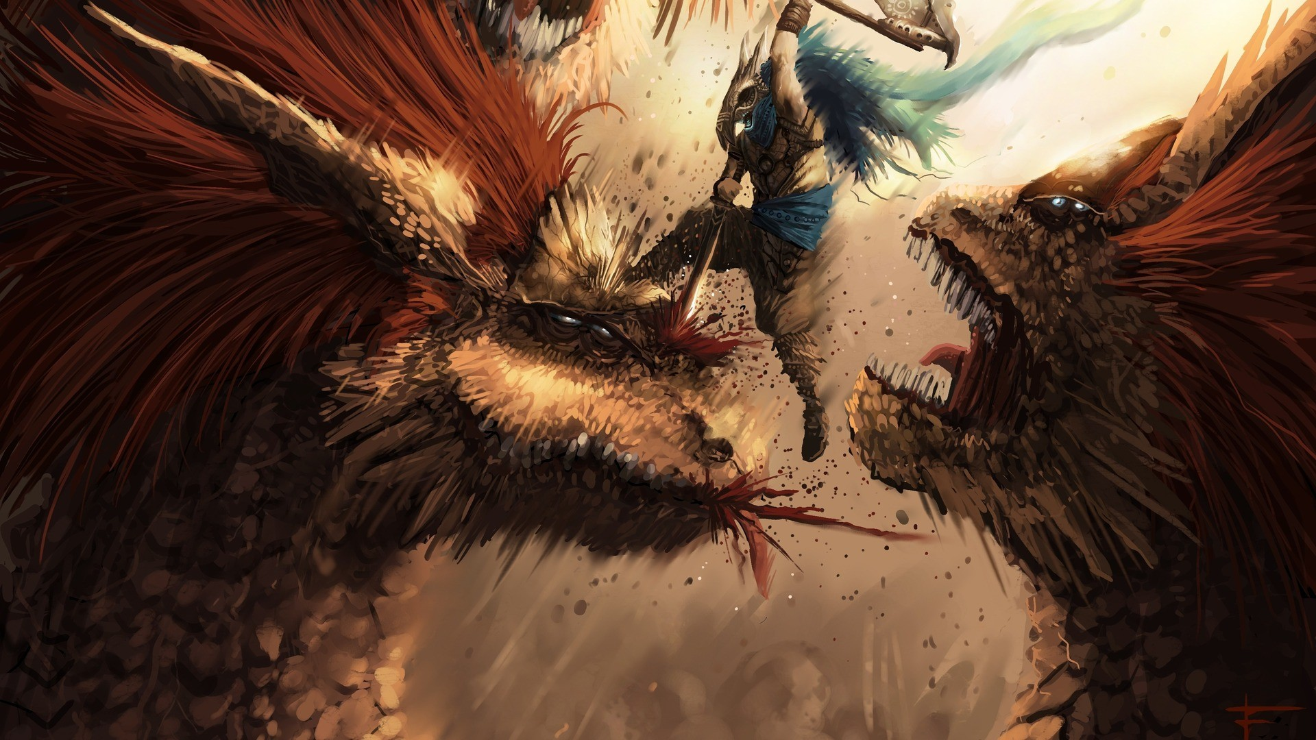monster hunter slayer fantasy best widescreen background awesome