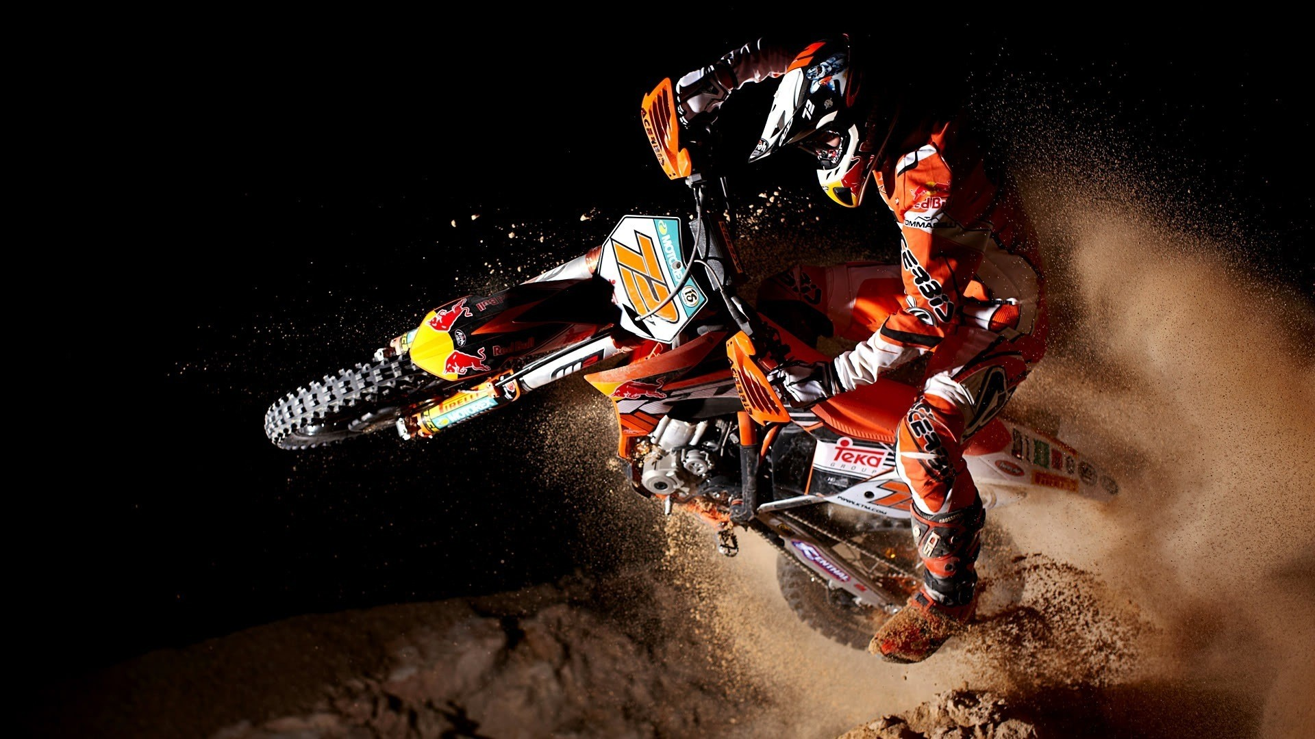 fonds d'écran wallpapers motocross motorbikes red bull Red Bull Wallpaper