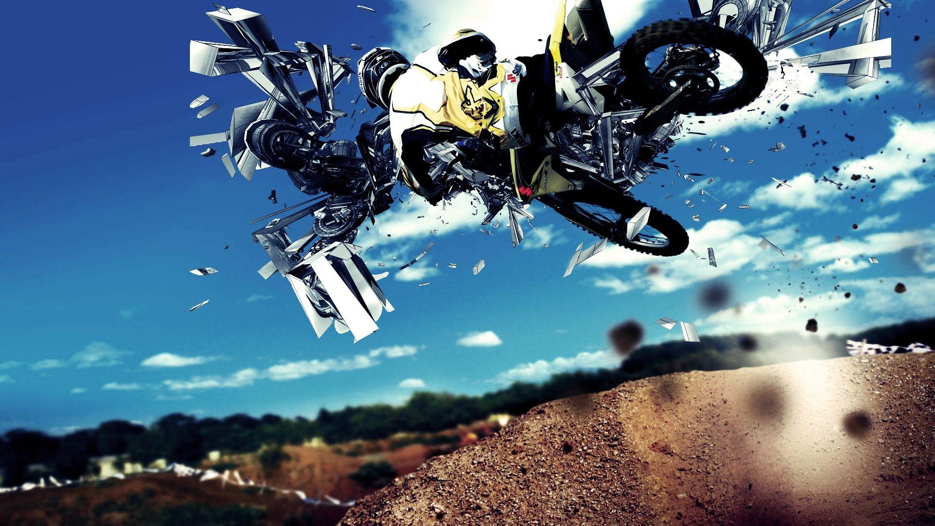 fonds d'écran motocross