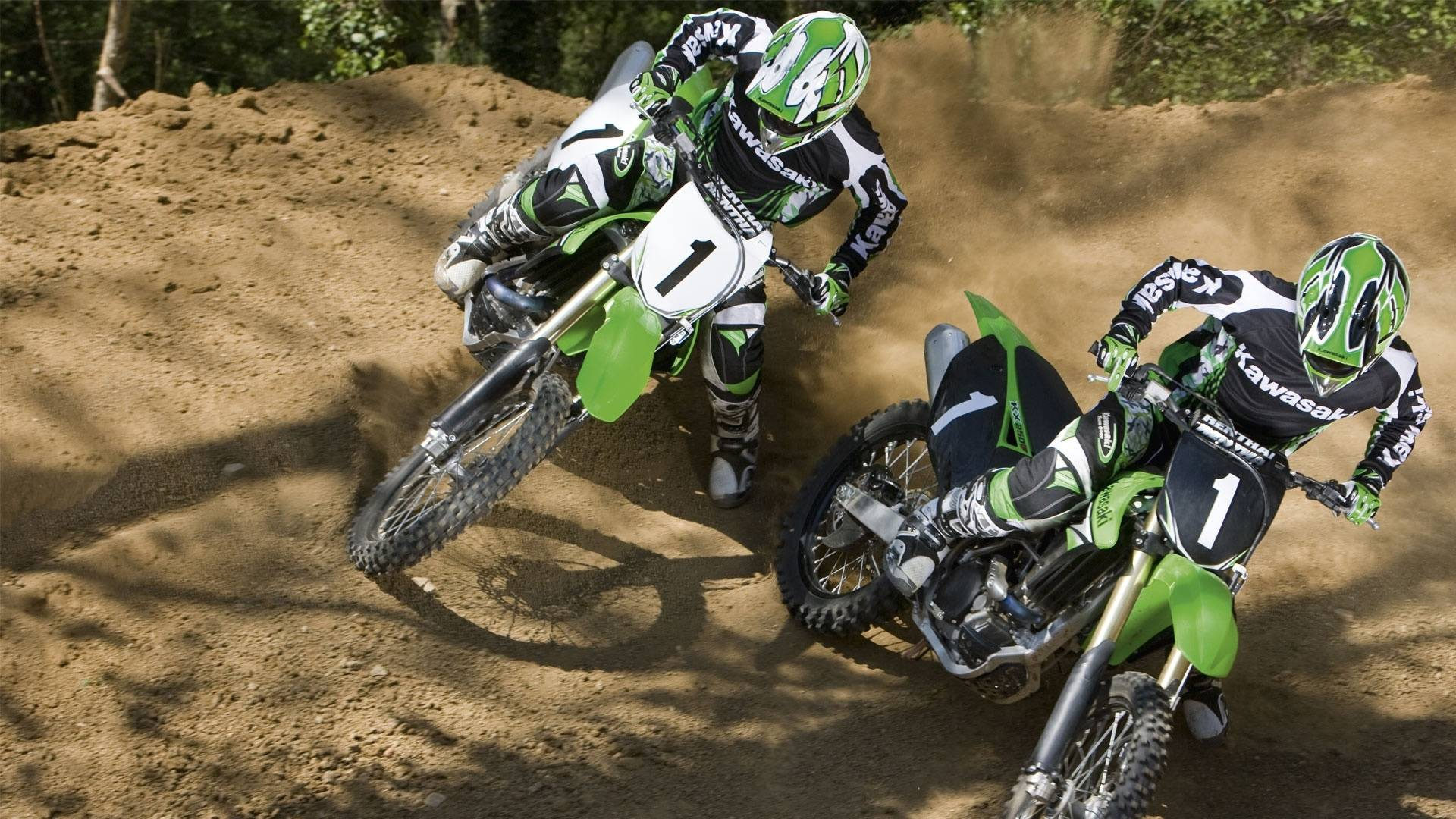 motocross fonds d'écran