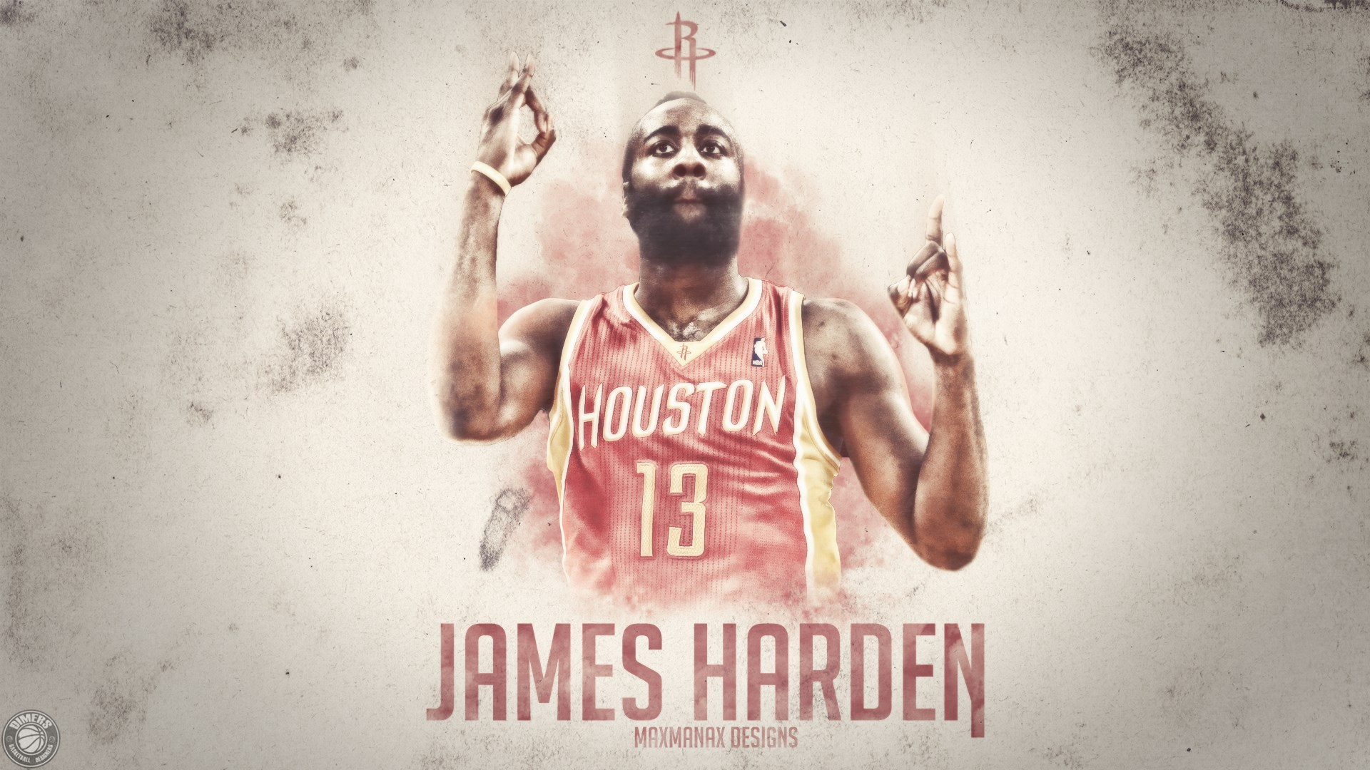 james harden fear the beard maxmanax designs wallpaper