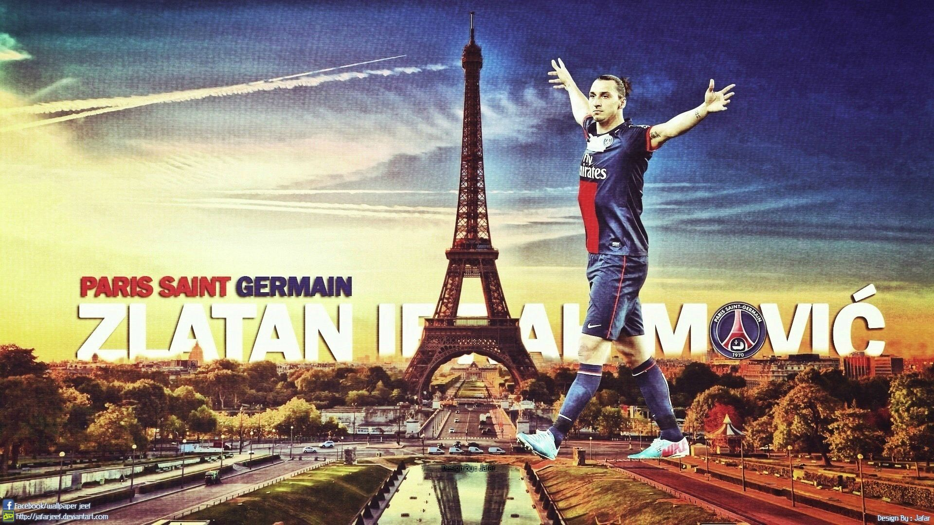 football photo : zlatan ibrahimovic, paris à ses pieds maxifoot