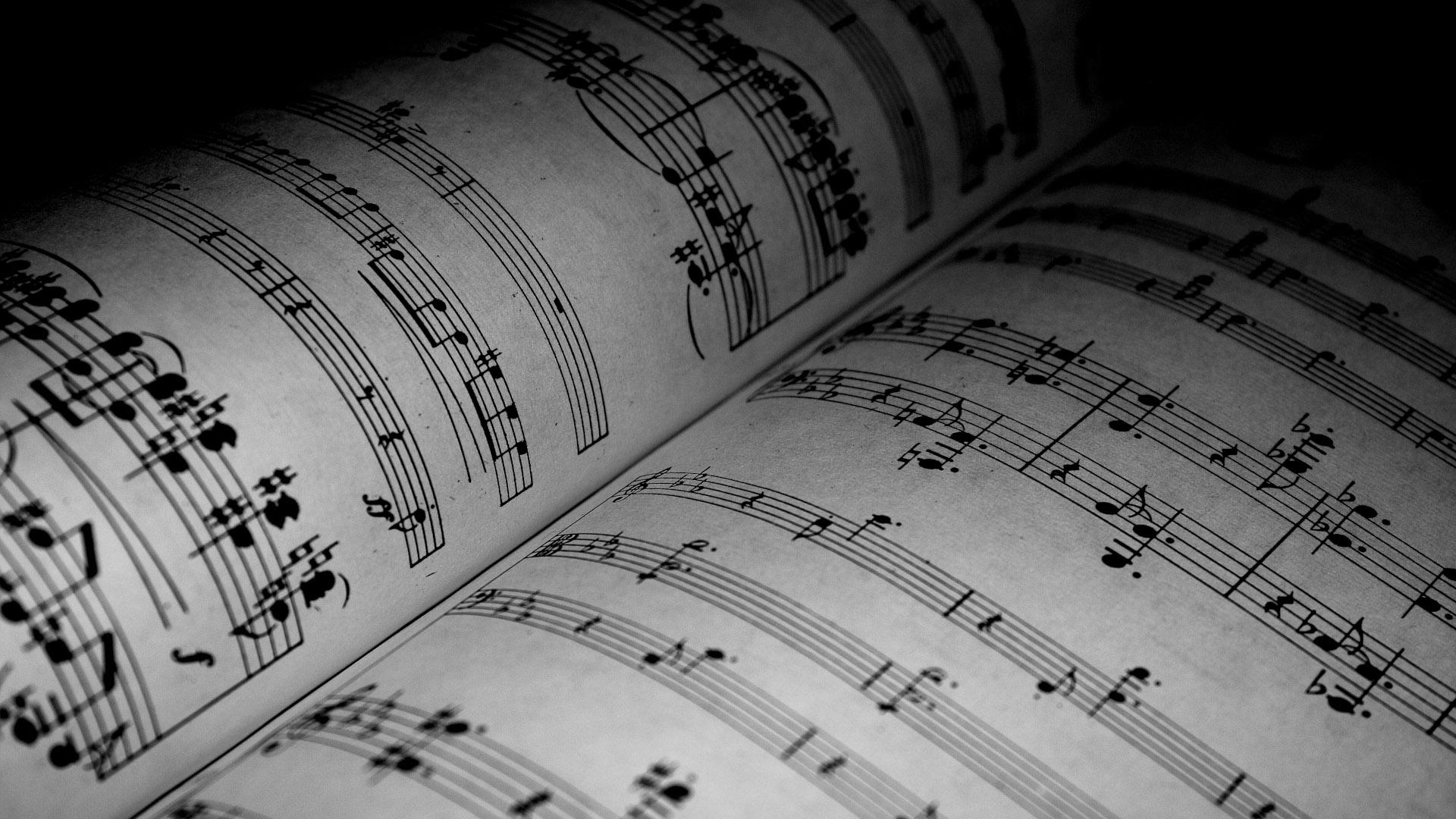 page d'accueil musiquefonds d'écran hd super musique note papier