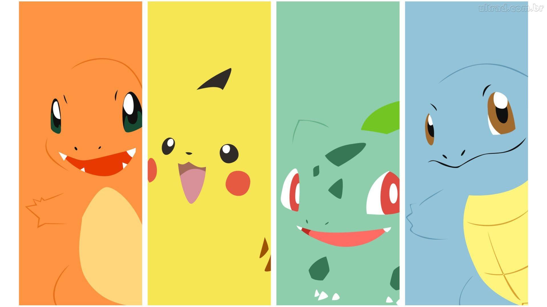 page d'accueil dessins animés fonds d'écran hd pokemon, animaux