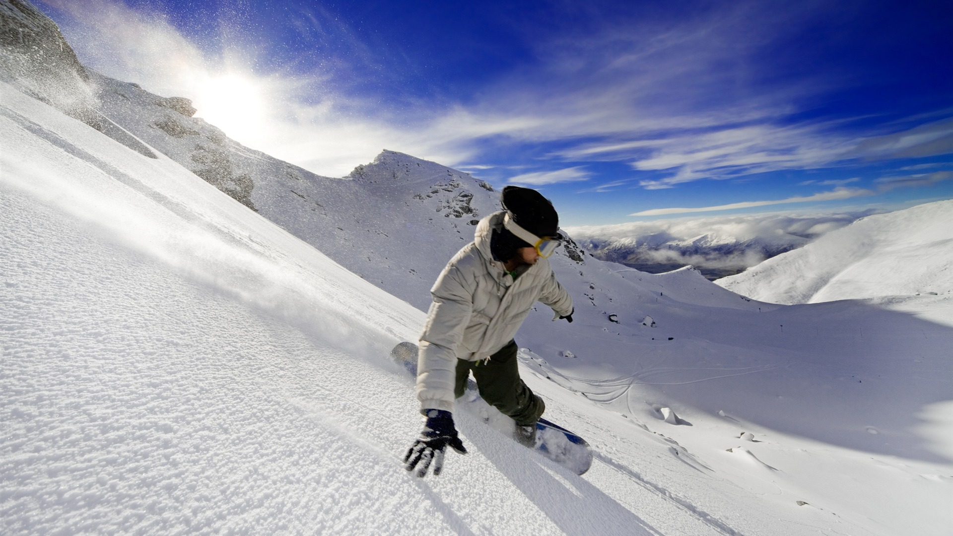 snowboard la vie est le défi x fond d'écran télécharger