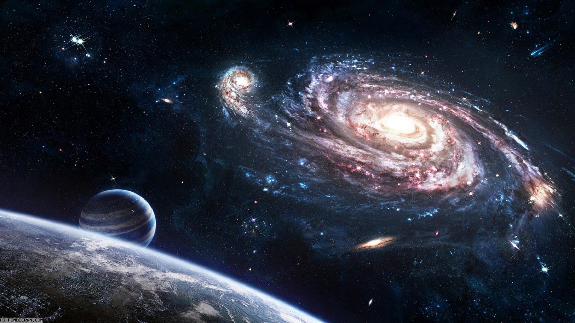 fond d'écran hd espace de la terre gratuit