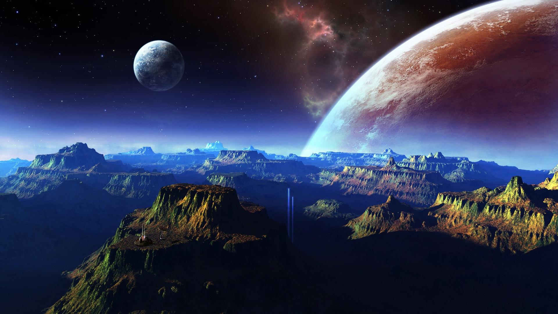 espace, la planète fonds d'écran x fonds d'écran