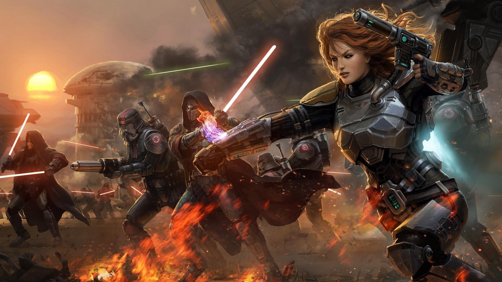 la collection star wars jeux vidéo star wars: the old republic