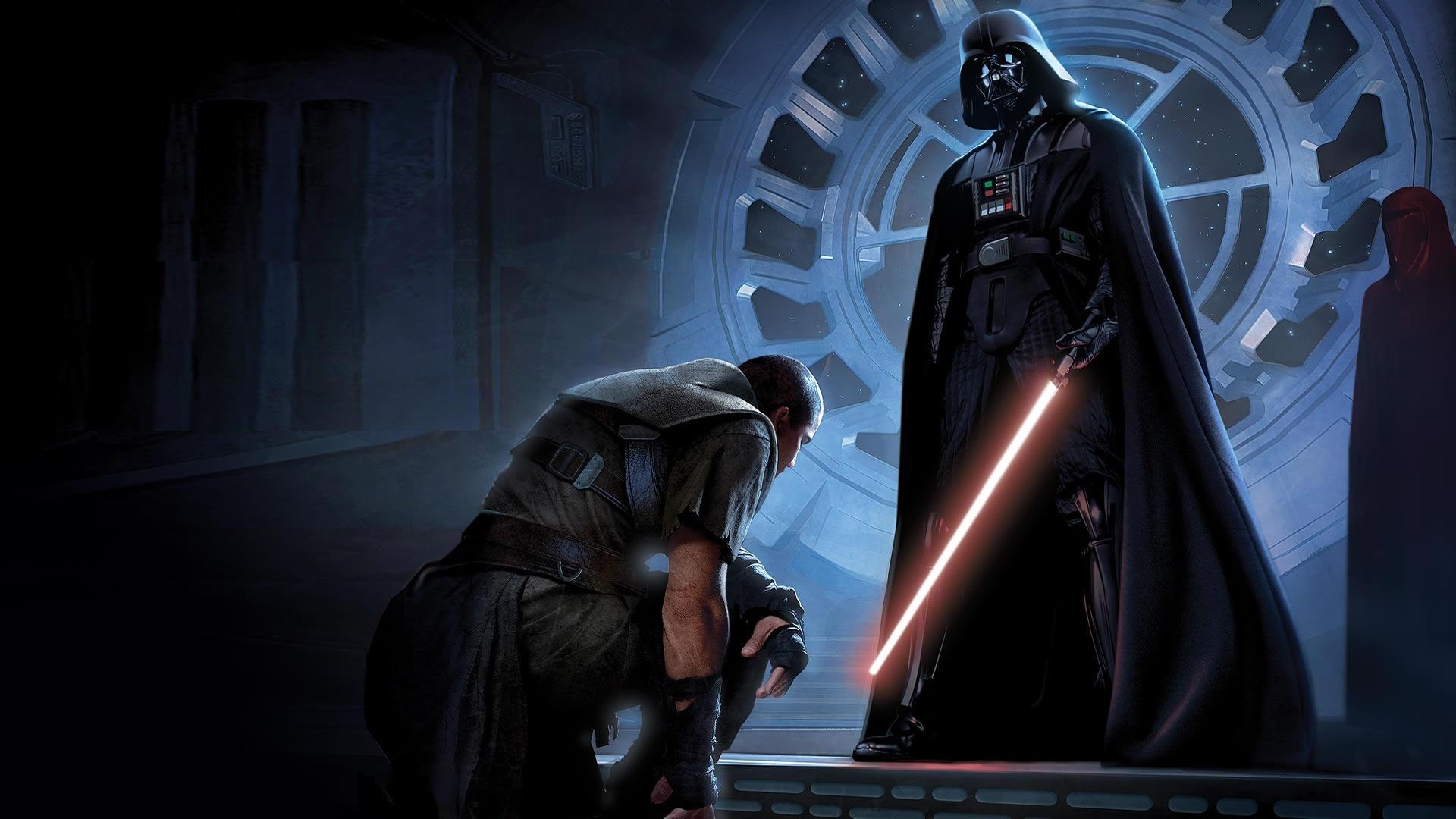 fond d'écran du jeu star wars : le pouvoir de la force x
