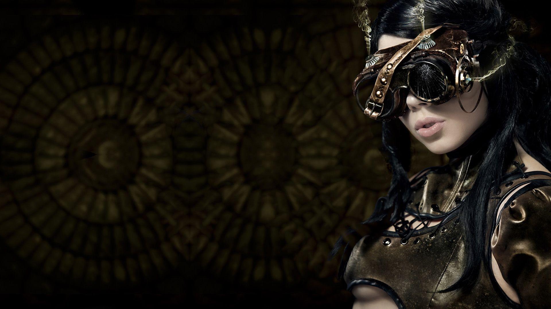 steampunk girl hd wallpaper x