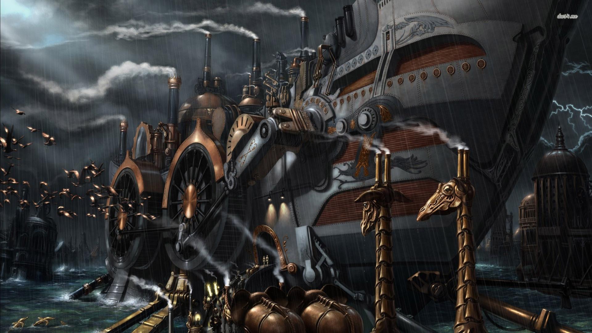 fonds d'écran steampunk : tous les wallpapers steampunk