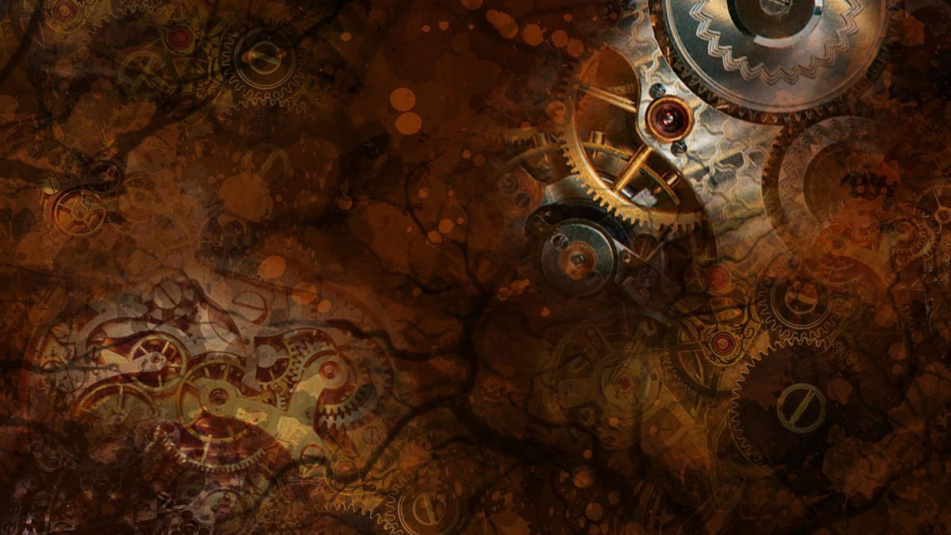 fonds d'écran steampunk pc et tablettes