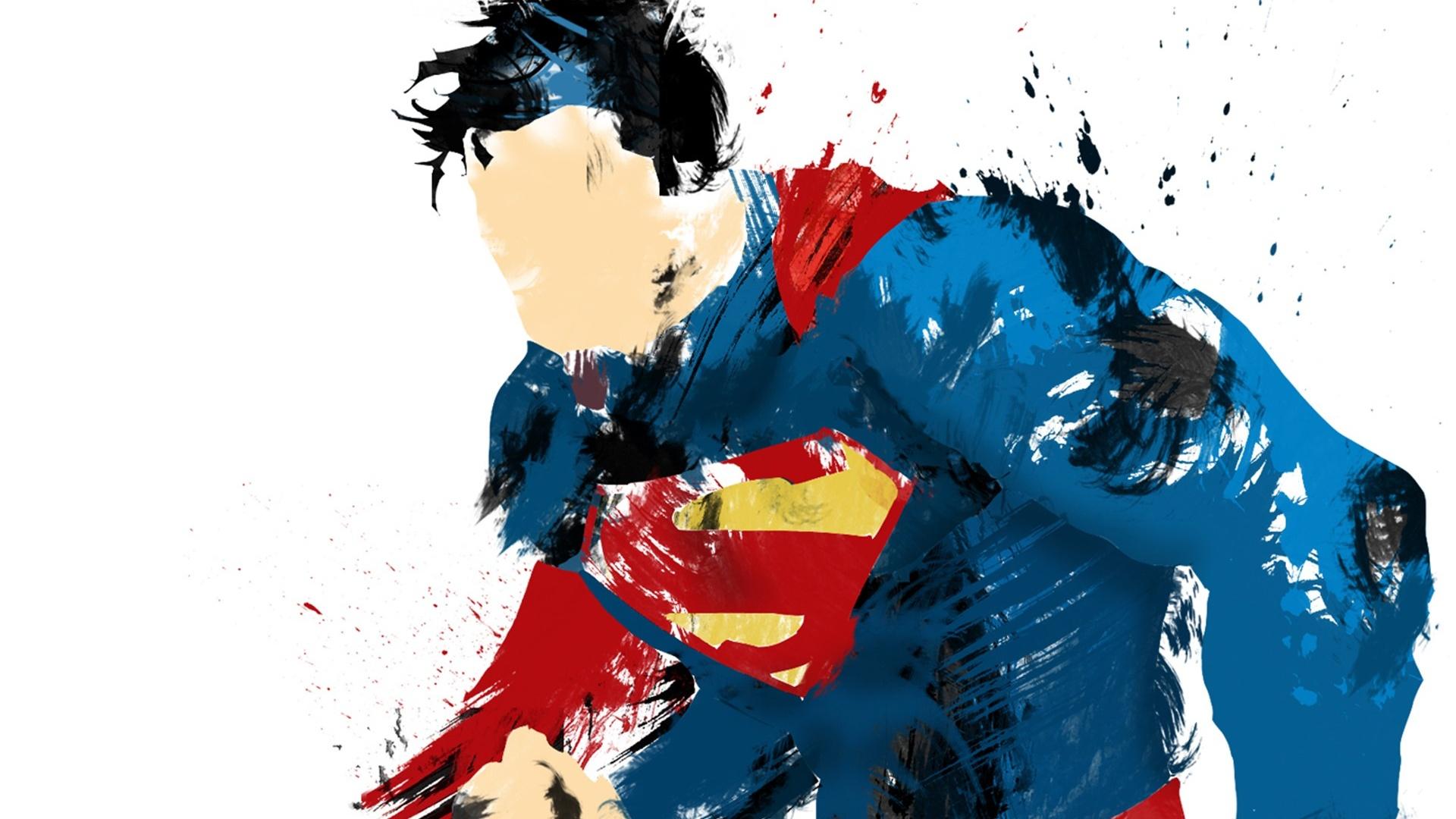 page d'accueil résumé fonds d'écran hd peinture superman
