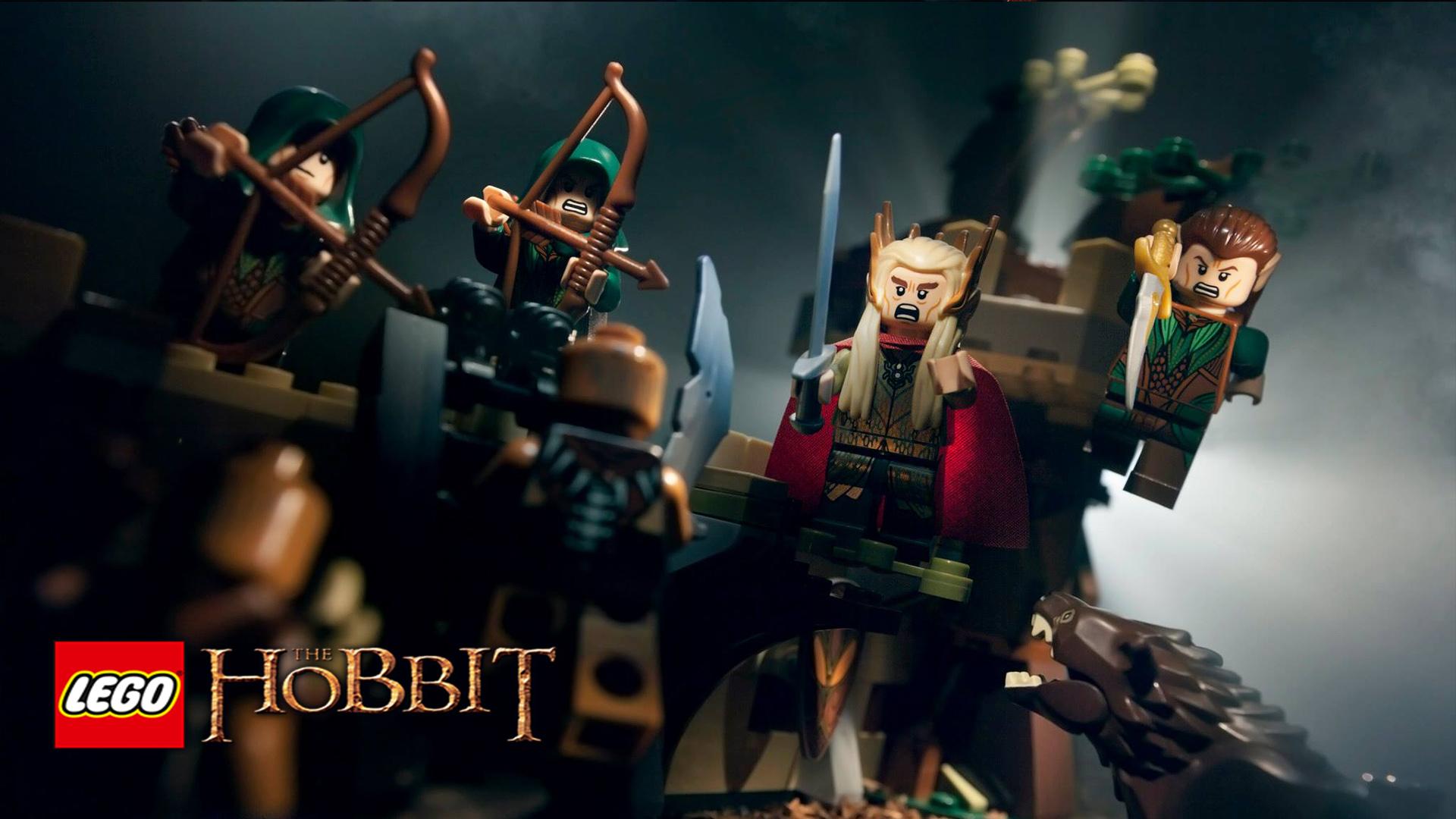 vidéo lego the hobbit lego hobbit légo thranduil fond d'écran