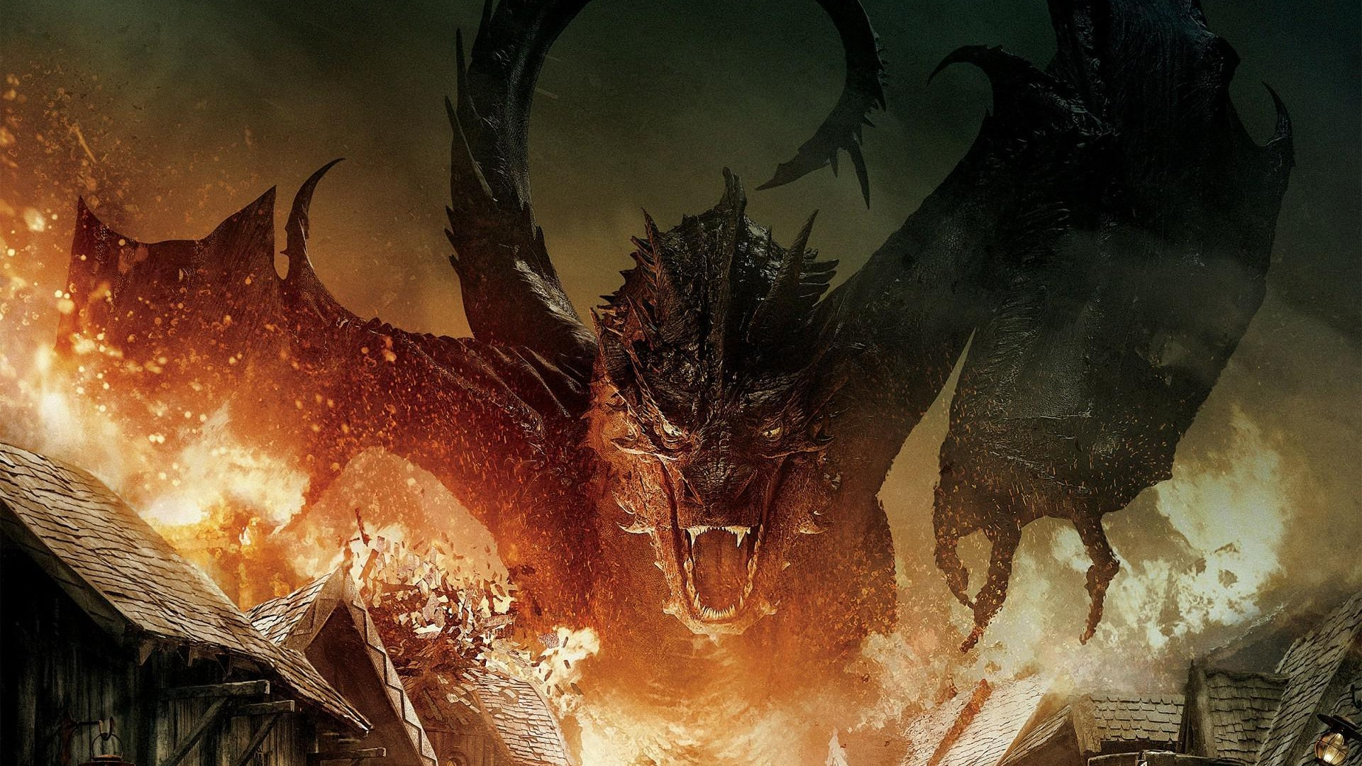 the hobbit the battle of the five armies fire dragon x