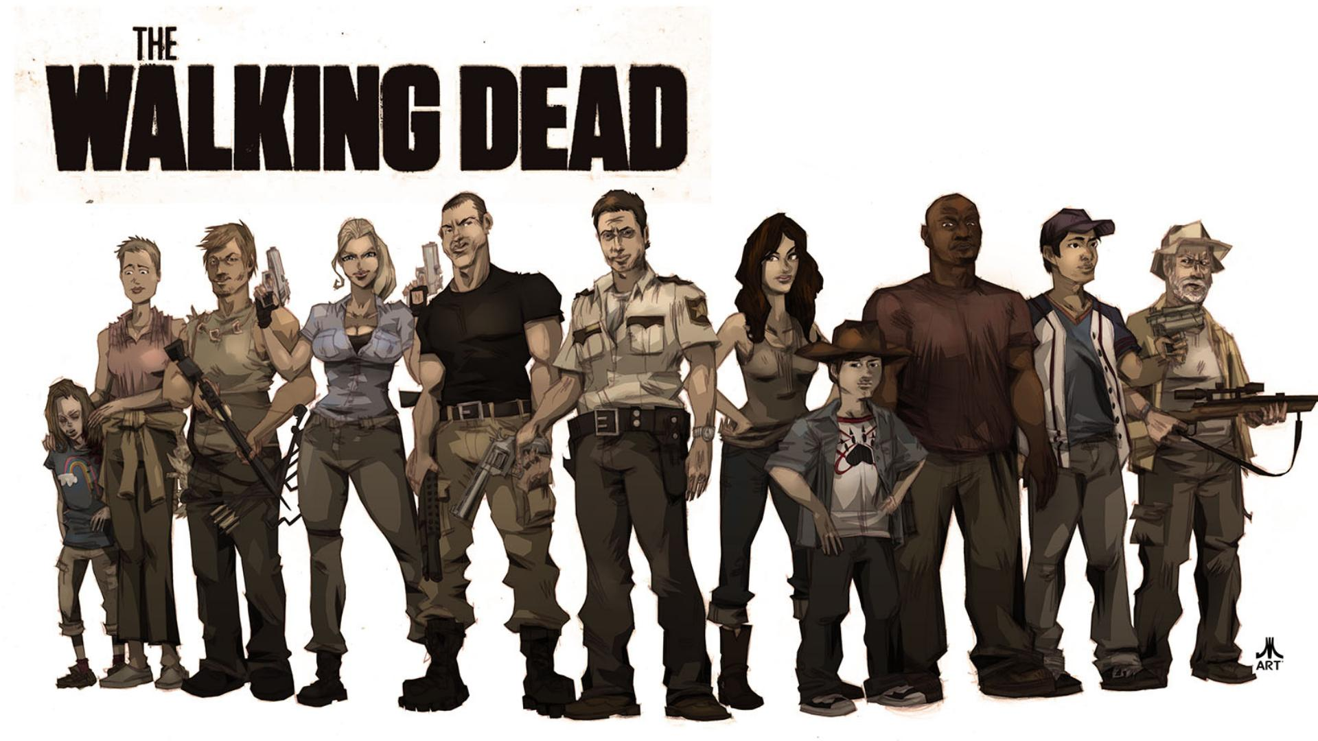 fonds d'écran the walking dead : tous les wallpapers the walking dead