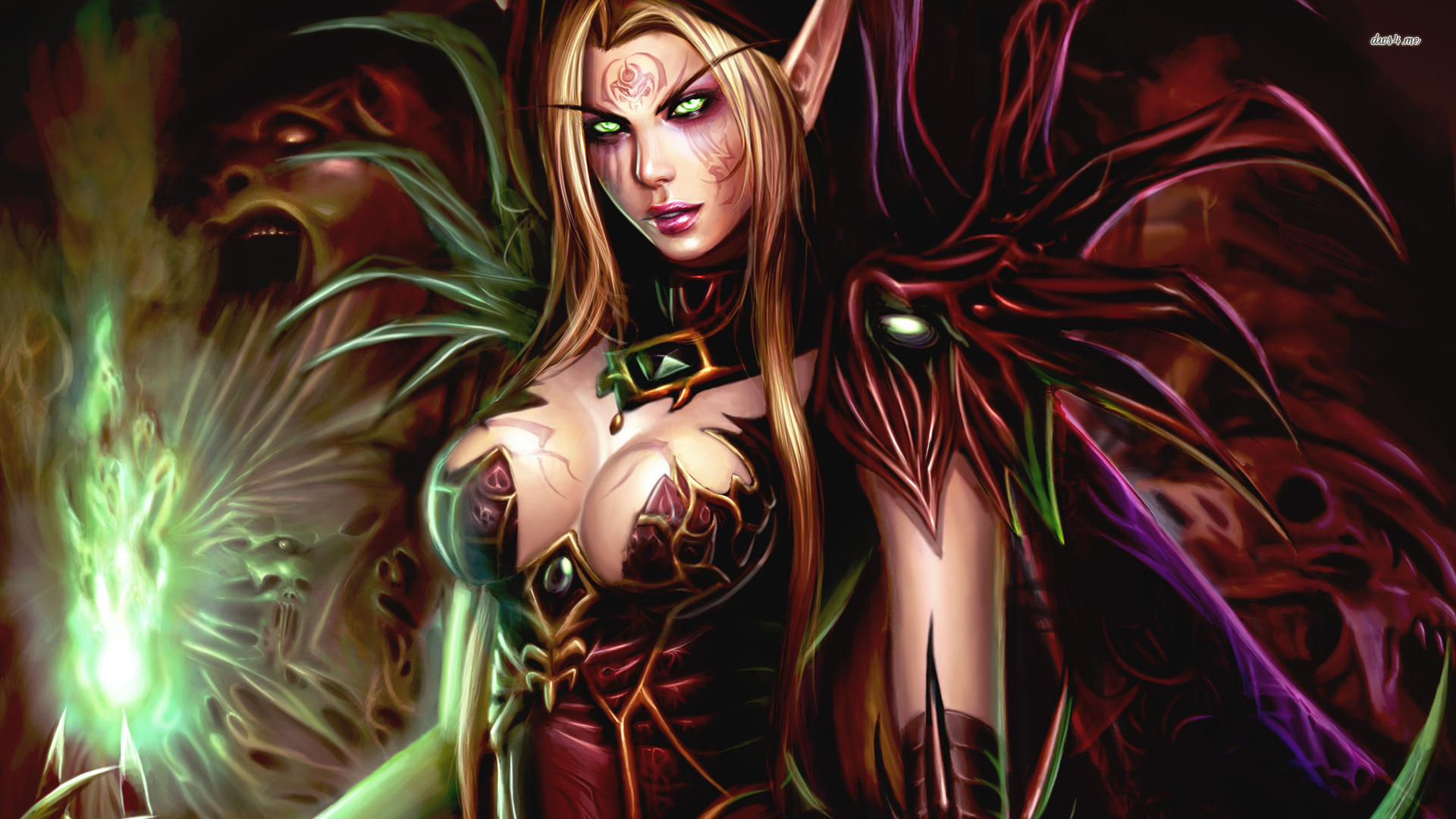 elf world de warcraft wallpaper game wallpapers