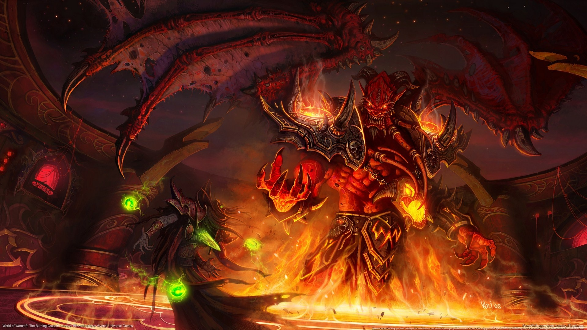 Wallpaper World Of Warcraft HD Gratuit à Télécharger Sur