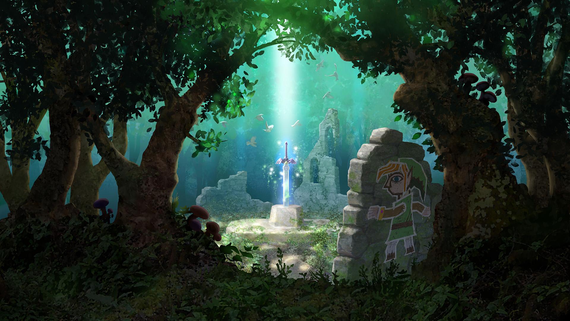 zelda jeux vidéo the legend de zelda: a link between worlds