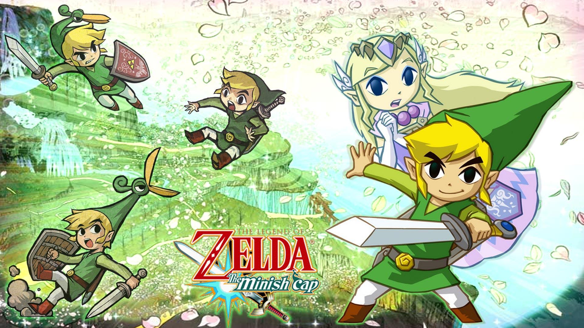 jeux vidéo the legend de zelda: the minish cap zelda fond d'écran