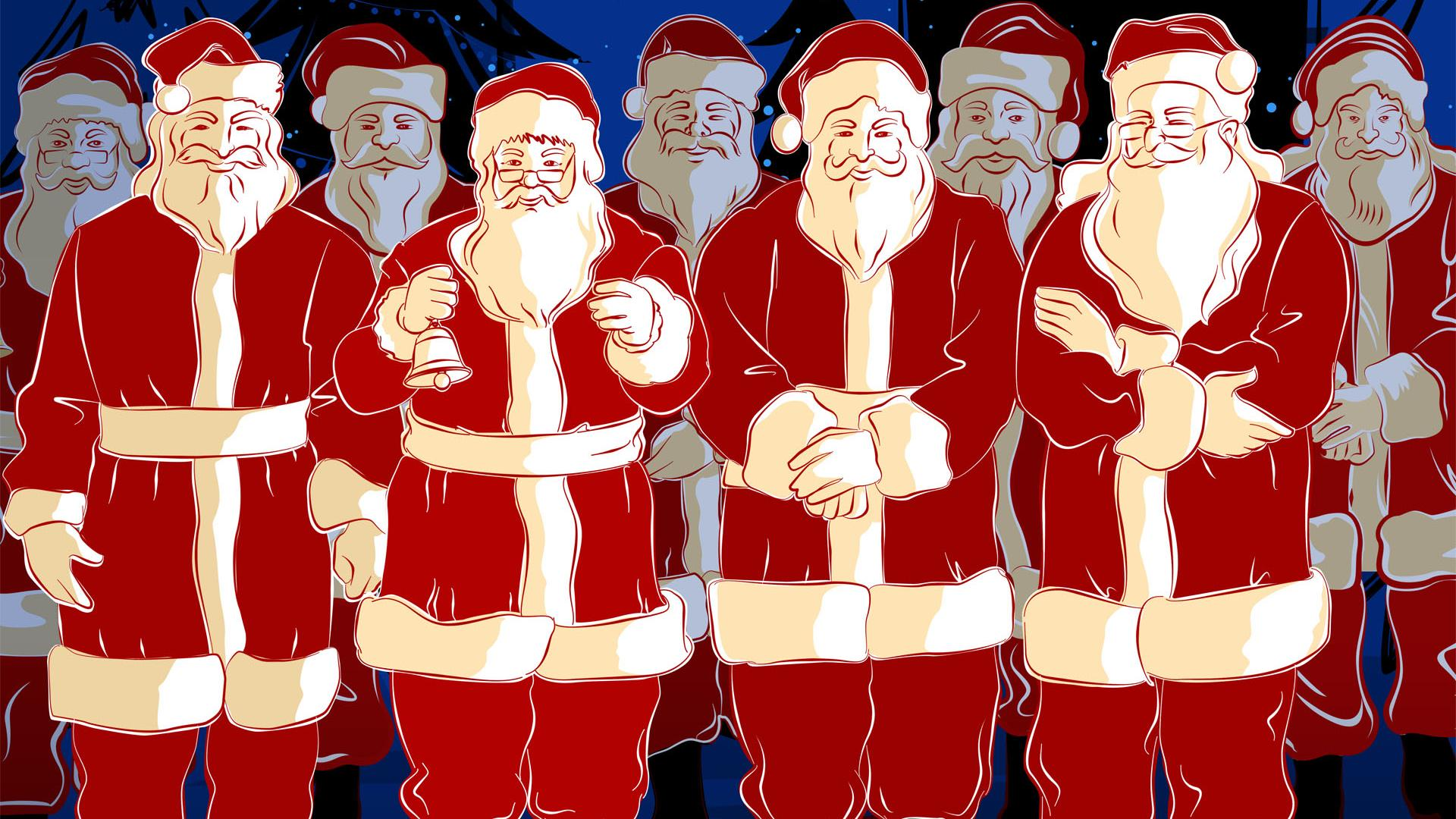 santclaus wallpaper 1