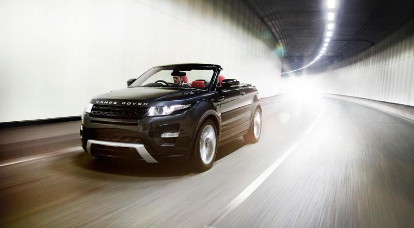Une édition limitée pour le futur Range Rover Evoque convertible