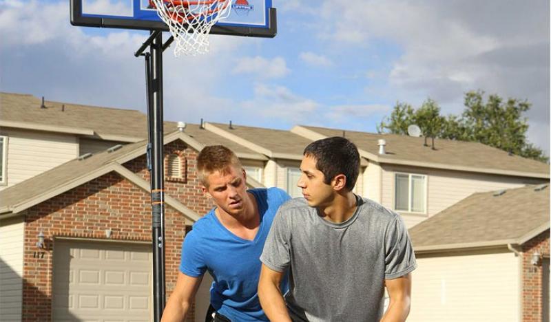 Panier de basket : sable ou eau dans la base