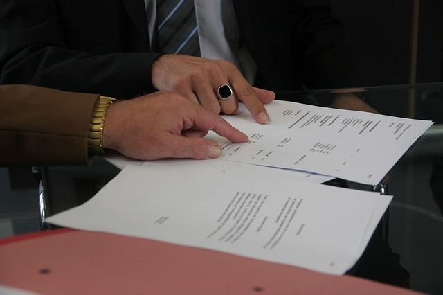 contrat de location papier signature