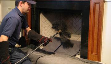 Les deux types de ramonage de cheminée